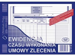 Druk-Ewidencja czasu wyk. umowy zlecenia 511-3E