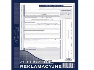 Druk-ZR zg³oszenie reklamacyjne 2-kopie 601-1