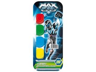 Farby akwarelowe 12 kolorów MAJEWSKI Max Steel