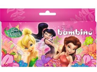 Kredki BAMBINO 24 kolory Disney Wró¿ki