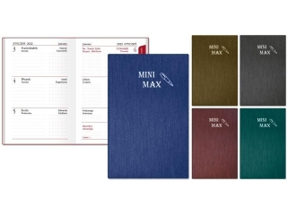 Kalendarz kieszonkowy SAPT SK-5 Mini-Max 2021
