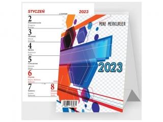 Kalendarz biurkowy BESKIDY Mini-Merkurier stoj±cy B9 2021