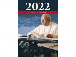 Kalendarz ¶cienny DIEC A4 Jan Pawe³ II na ka¿dy dzieñ 2022