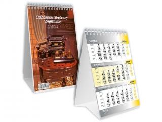 Kalendarz biurkowy SAPT trójdzielny SB-11 2021