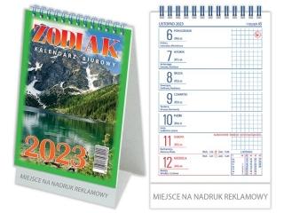 Kalendarz biurkowy TELEGRAPH Zodiak 2021