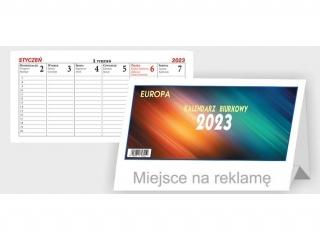 Kalendarz biurkowy BESKIDY Europa le¿±cy B4 2021
