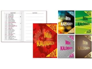 Kalendarz kieszonkowy SAPT SK-10 Mini oprawa kartonowa 2021