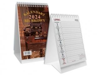 Kalendarz biurkowy SAPT pionowy spirala SB-3 2021