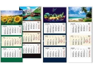 Kalendarz trójdzielny SAPT p³aski SB-6 2022