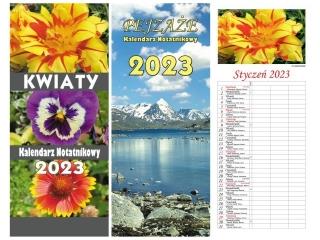 Kalendarz notatnikowy BESKIDY 2021