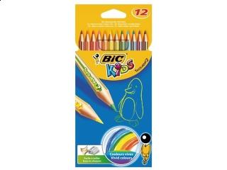 Kredki BIC Tropicolors cienkie 12 kolorów HURT