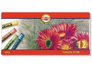 Pastele suche KOH-I-NOOR Toison D'or 12 kolorów HURT