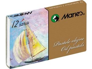Pastele olejne E1220 - 12 kolorów Maries