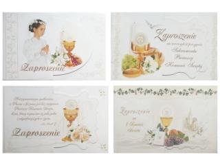 Kartki zaproszenia PANORAMA  komunia