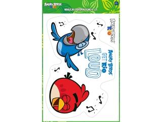 Naklejki A3 Angry Birds Rio dekoracyjne kpl 4 szt