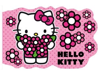 Notes kszta³towy A6 DERFORM Hello Kitty