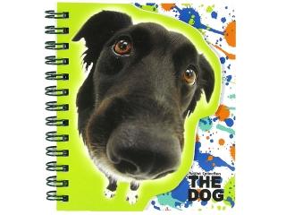 Notes kszta³towy spirala DERFORM The Dog