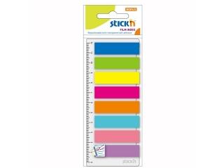 Zak³adki indeksuj±ce STICK'N 8 kolorów neon x 25szt. + l