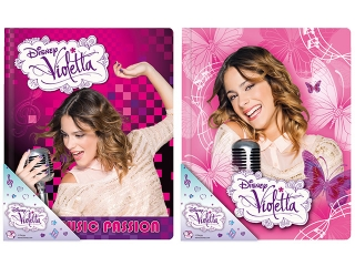 Pamiêtnik DERFORM Violetta w twardej oprawie  (POTVI)