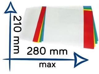Ok³adka na zeszyt A5 regulowana nr23 210x280mm