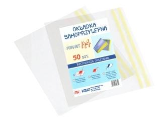 Ok³adka samoprzylepna A4 Fol-Plast max: 330x520mm