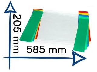 Ok³adka szkolna Plastyka nr19 205x585mm