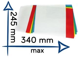 Ok³adka szkolna Chemia (krótka) regulowana nr21 245x340mm