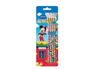 O³ówki z gumk± 4szt MMCH Disney