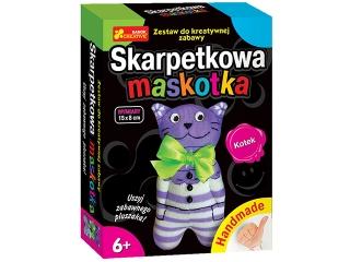 Zestaw kreatywny RANOK Skarpetkowa maskotka - Kotek