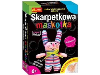 Zestaw kreatywny RANOK Skarpetkowa maskotka - Króliczek