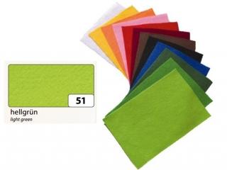 Filc FOLIA 20x30cm - zielony jasny