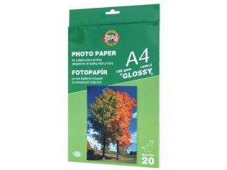 Papier fotograficzny KOH-I-NOOR b³yszcz±cy A4 20k. 150g