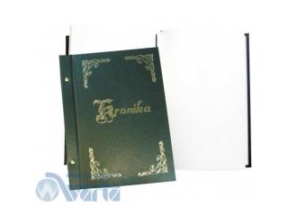 Kronika WARTA z³ocona B4 250x345 zielona 028