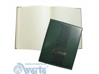 Kronika WARTA szyta B4 255x320 zielony 088