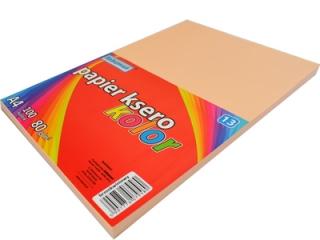 Papier ksero SCHEMAT A4 100k. 80g kolor - 13 brzoskwiniowy