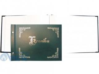 Kronika WARTA pozioma z³ocona B4 345x255 zielona 032