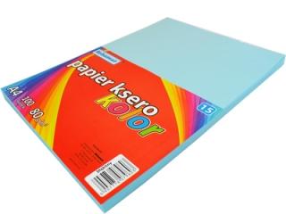 Papier ksero SCHEMAT A4 100k. 80g kolor - 15 b³êkitny