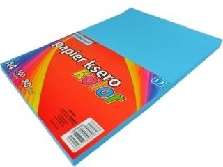 Papier ksero SCHEMAT A4 100k. 80g kolor - 17 niebieski