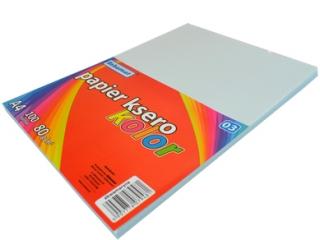 Papier ksero SCHEMAT A4 100k. 80g kolor - 03 akwamaryna