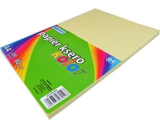 Papier ksero SCHEMAT A4 100k. 80g kolor - 04 s³omkowy