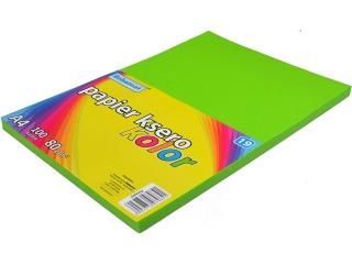 Papier ksero SCHEMAT A4 100k. 80g kolor - 19 zielony