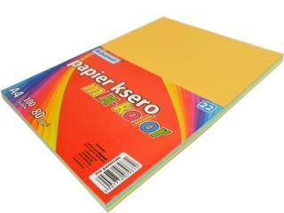 Papier ksero kolorowy A4 100k. SCHEMAT mix kolorów pastelowy