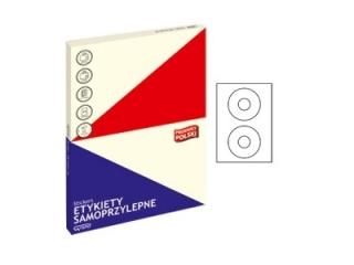 Etykiety samoprzylepne GRAND 33 100ark ¶rednica 117mm