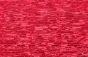 Krepina 180g/m 582 jasnoczerwony
