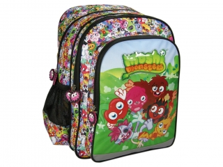 "Plecak 38cm (15"") DERFORM Moshi Monsters 11"