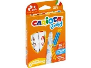 Pisaki CARIOCA 6-kolorów Maxi Baby (43223)