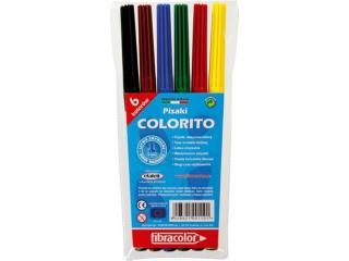 Pisaki  6 kolorów FIBRACOLOR Colorito