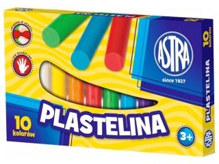 Plastelina 10 kolorów ASTRA HURT