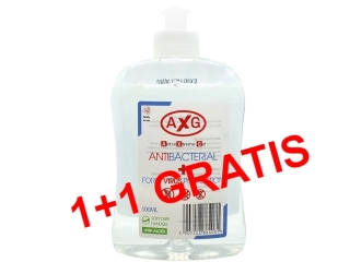 AxG ¯el Antibacterial Forte Virus Protection 500ml+GRATIS