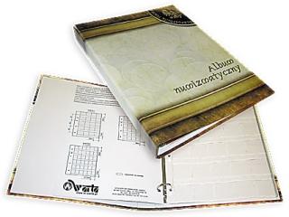 Klaser numizmatyczny A4 3k. segregator (004)